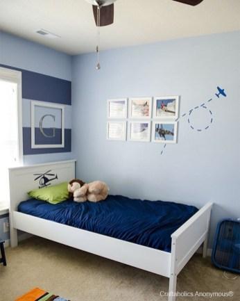 Cute Love Blue Ideas For Teenage Bedroom 10