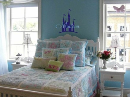 Cute Love Blue Ideas For Teenage Bedroom 37