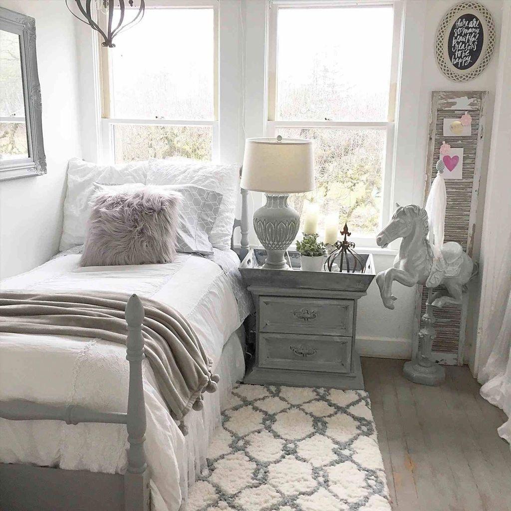 Cute Love Blue Ideas For Teenage Bedroom 45