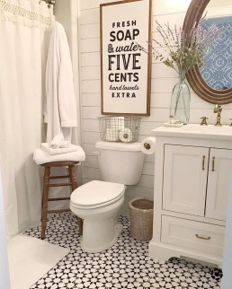 Newest Guest Bathroom Decor Ideas 05