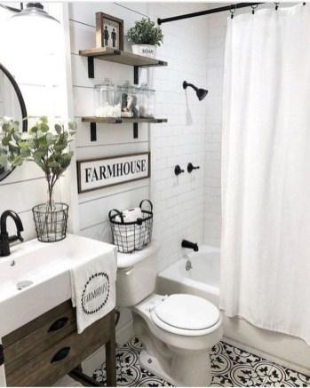 Newest Guest Bathroom Decor Ideas 26
