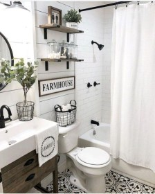 Newest Guest Bathroom Decor Ideas 47
