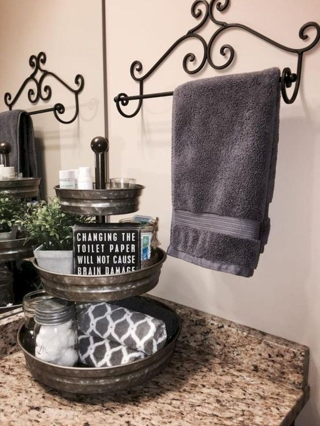 Newest Guest Bathroom Decor Ideas 53