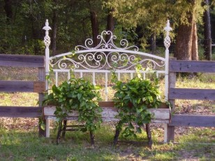 Unique Old Furniture Repurposing Ideas For Yard And Garden 10