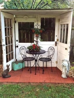 Unique Old Furniture Repurposing Ideas For Yard And Garden 31