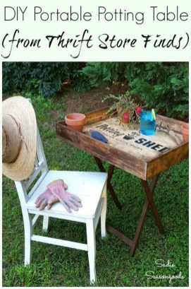Unique Old Furniture Repurposing Ideas For Yard And Garden 33