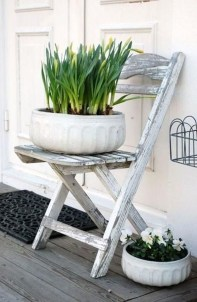 Unique Old Furniture Repurposing Ideas For Yard And Garden 38