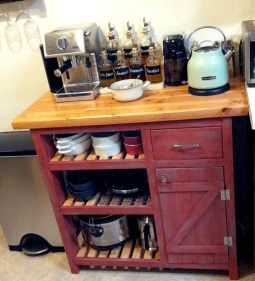 Affordable Diy Mini Coffee Bar Design Ideas For Home Right Now 05