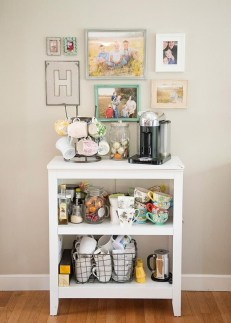 Affordable Diy Mini Coffee Bar Design Ideas For Home Right Now 12