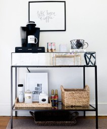 Affordable Diy Mini Coffee Bar Design Ideas For Home Right Now 23