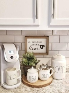 Affordable Diy Mini Coffee Bar Design Ideas For Home Right Now 29