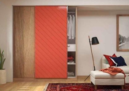 Amazing Sliding Door Wardrobe Design Ideas 12