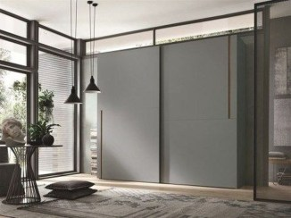 Amazing Sliding Door Wardrobe Design Ideas 24