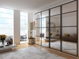 Amazing Sliding Door Wardrobe Design Ideas 47