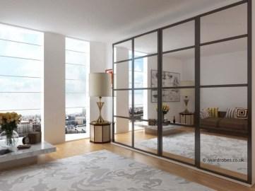 Amazing Sliding Door Wardrobe Design Ideas 47