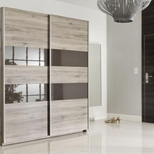 Amazing Sliding Door Wardrobe Design Ideas 48