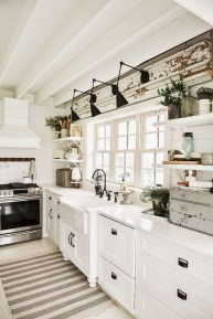 Enchanting Farmhouse Kitchen Decor Ideas To Try Nowaday 03
