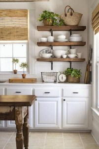 Enchanting Farmhouse Kitchen Decor Ideas To Try Nowaday 05