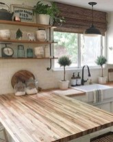 Enchanting Farmhouse Kitchen Decor Ideas To Try Nowaday 08