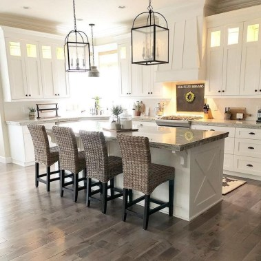Enchanting Farmhouse Kitchen Decor Ideas To Try Nowaday 46