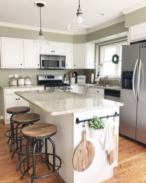 Enchanting Farmhouse Kitchen Decor Ideas To Try Nowaday 53