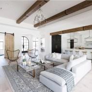 Fancy Farmhouse Living Room Decor Ideas To Try 09