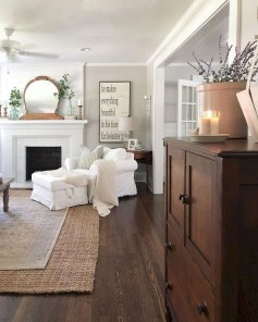 Fancy Farmhouse Living Room Decor Ideas To Try 44