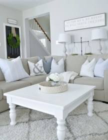 Fancy Farmhouse Living Room Decor Ideas To Try 52