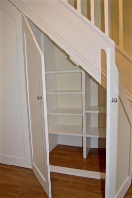 Fantastic Storage Under Stairs Ideas 07