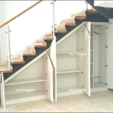 Fantastic Storage Under Stairs Ideas 13