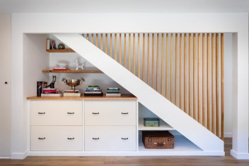 Fantastic Storage Under Stairs Ideas 17