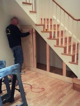 Fantastic Storage Under Stairs Ideas 48