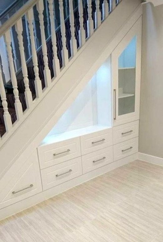 Fantastic Storage Under Stairs Ideas 51