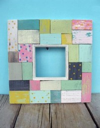 Fascinating Wood Photo Frame Ideas For Antique Home 10