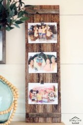 Fascinating Wood Photo Frame Ideas For Antique Home 11