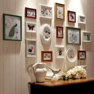 Fascinating Wood Photo Frame Ideas For Antique Home 15