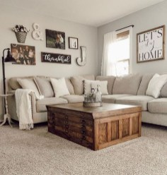 Hottest Farmhouse Living Room Decor Ideas That Looks Cool 38