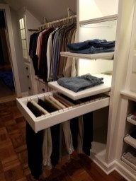 Simple Custom Closet Design Ideas For Your Home 19