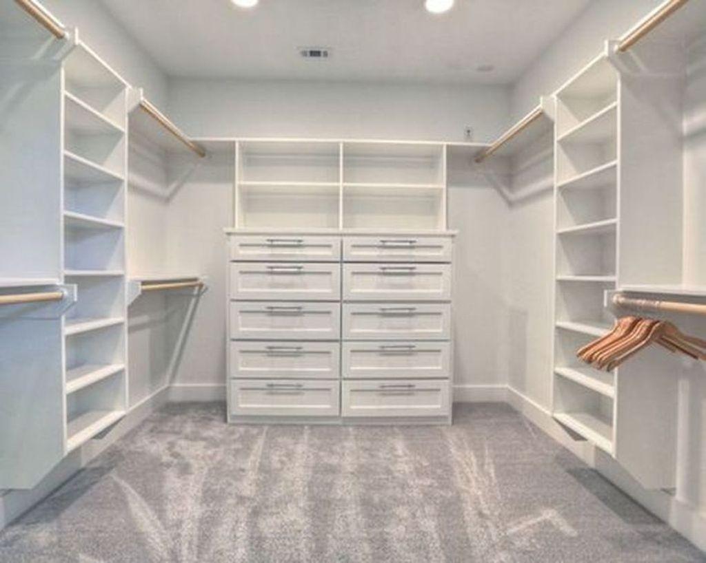 Simple Custom Closet Design Ideas For Your Home 39