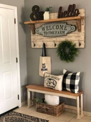 Superb Farmhouse Wall Decor Ideas For You 19