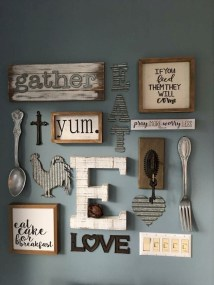 Superb Farmhouse Wall Decor Ideas For You 23