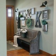 Superb Farmhouse Wall Decor Ideas For You 29
