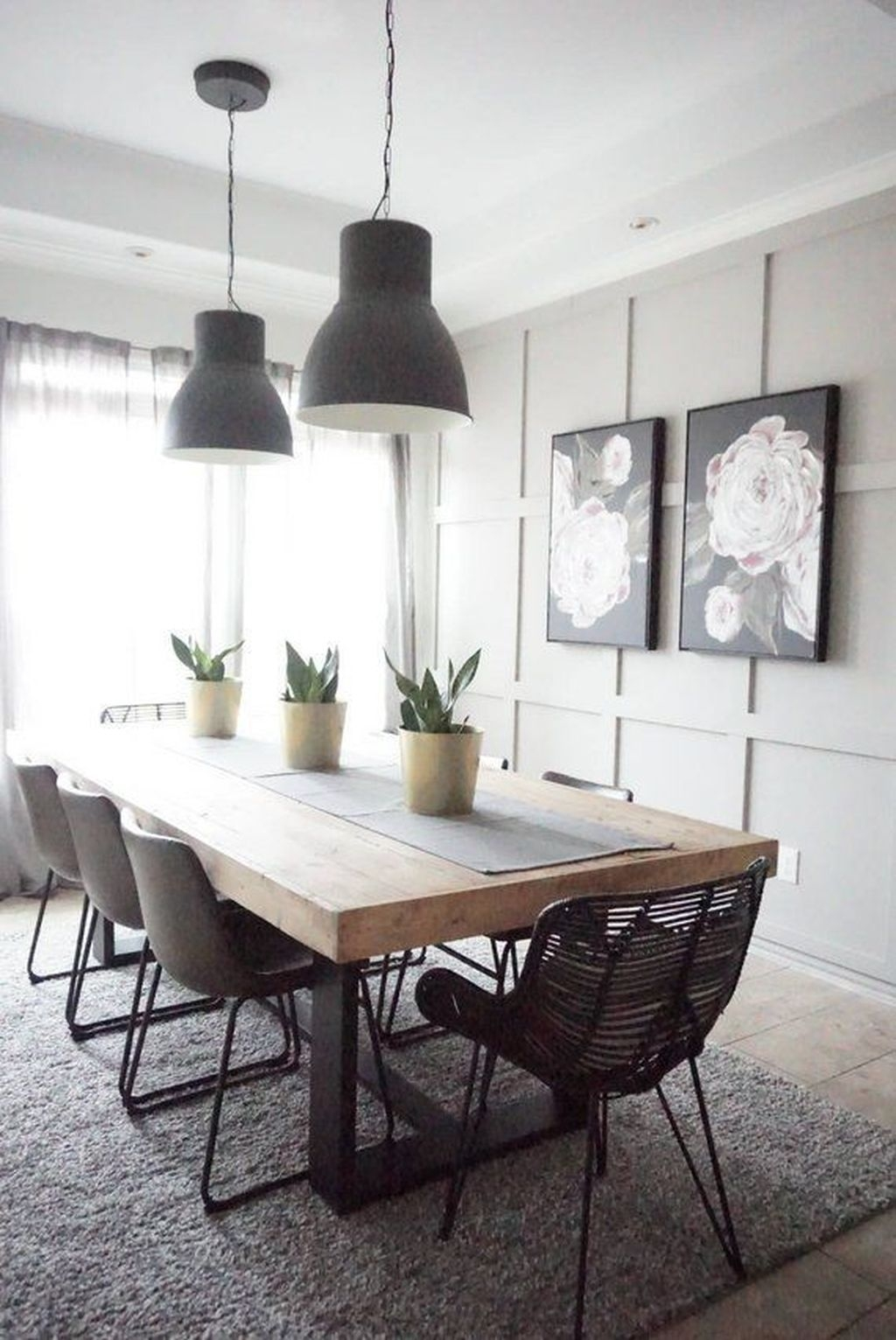 Trendy Dining Table Design Ideas That Looks Amazing 04