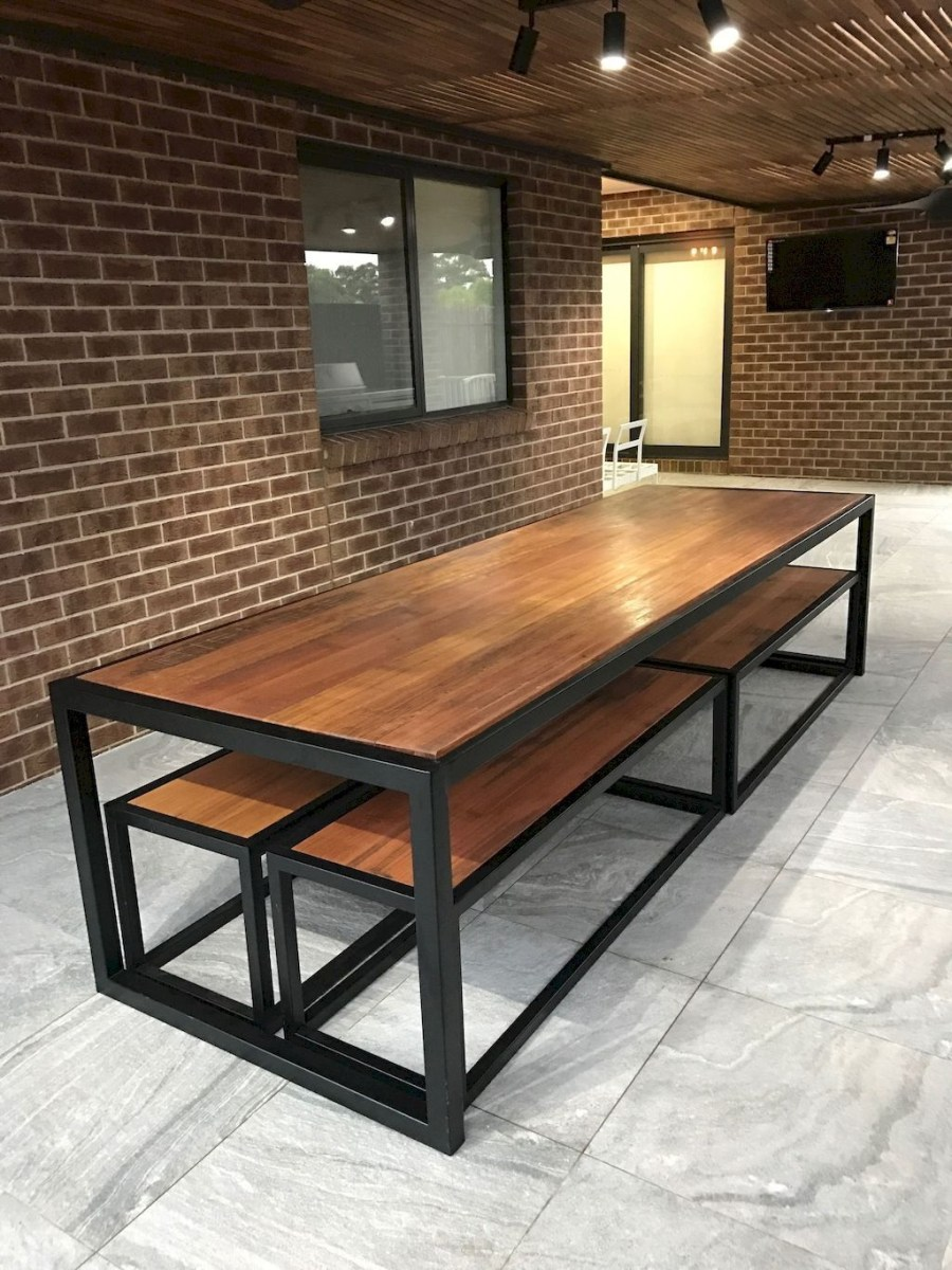 Trendy Dining Table Design Ideas That Looks Amazing 16