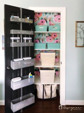 Unordinary Crafty Closet Organization Ideas To Apply Asap 43