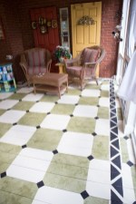 Unusual Diy Painted Tile Floor Ideas With Stencils That Anyone Can Do 16