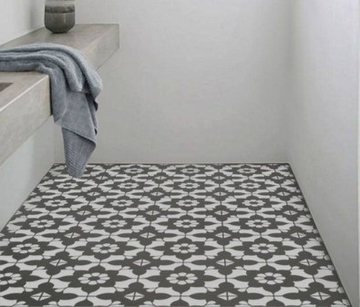 Unusual Diy Painted Tile Floor Ideas With Stencils That Anyone Can Do 28