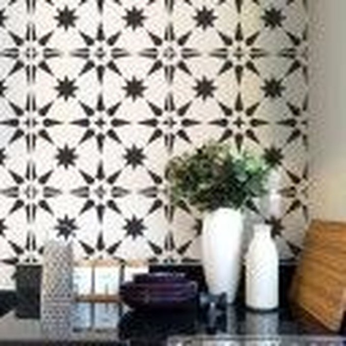 Unusual Diy Painted Tile Floor Ideas With Stencils That Anyone Can Do 51