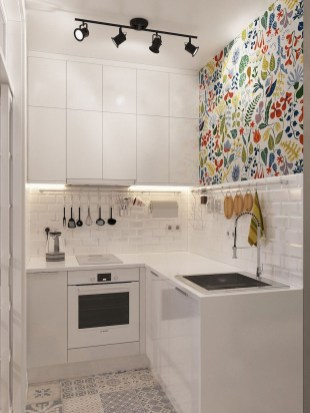 Unusual White Kitchen Design Ideas To Try 07