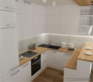Unusual White Kitchen Design Ideas To Try 36